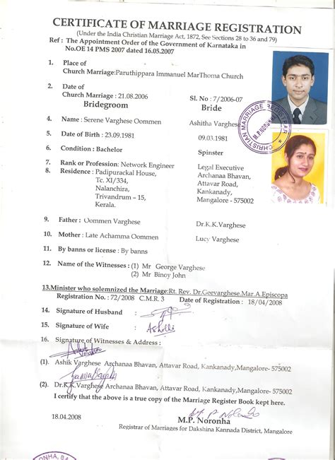Are Marriage Certificates Record Marriage Certificate Attestation Apostille Legalization Embassy Attestation