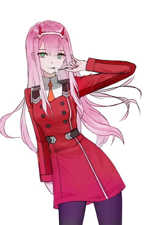 Anime Zero Two by Zero Two In The Franxx Image 2258456 Zerochan