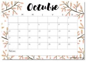 Calendario De Octubre Calendario Imprimible Octubre 2016 Printable
