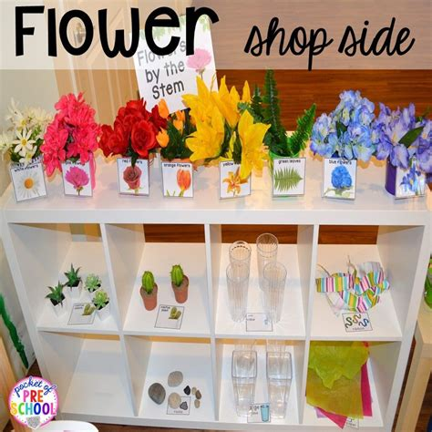 garden shop and flower shop dramatic play