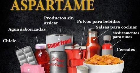 replica aspartame  dulce peligro