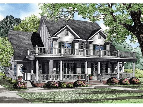 plantation house plans mendell plantation home plan 055s 0053 house plans and more