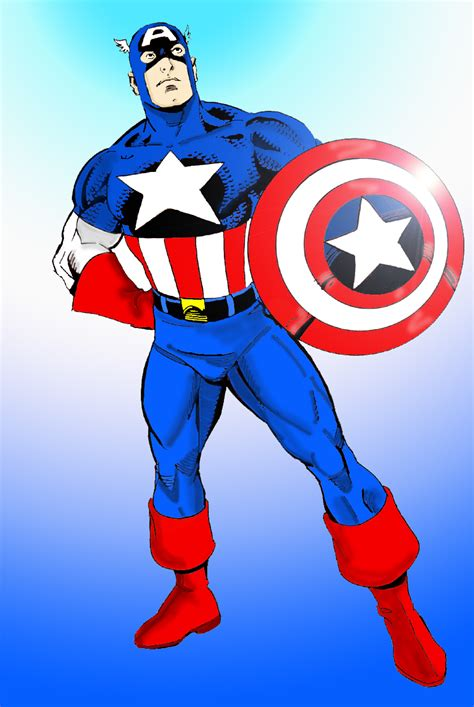 what is captain with captain america color by txboi001 on deviantart