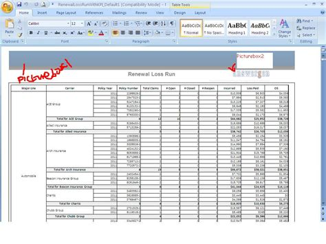 Word Excel Two Picture Not Displayed Word Excel Reporting