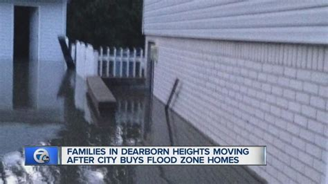 buying a house in a flood zone dearborn heights buying up homes in flood zone wxyz com