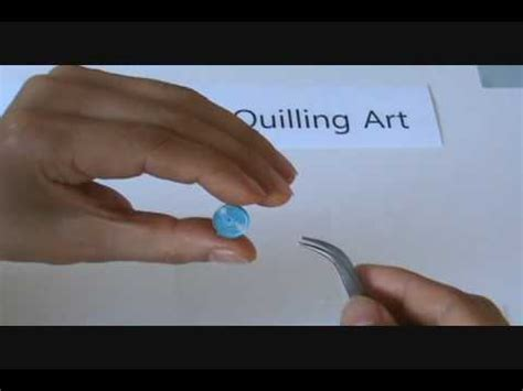tutorial quilling en vidéo paper quilling basic shapes techniques tutorial youtube