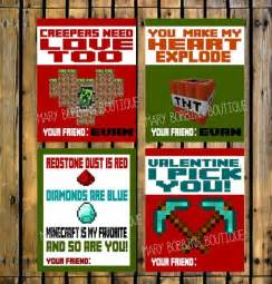 diy minecraft valentines printable diy minecraft s cards