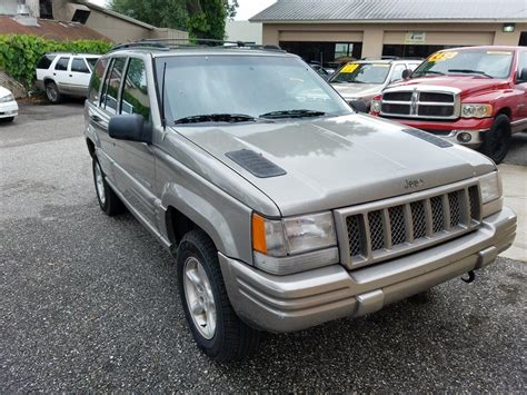 1998 jeep grand 5 9 jeep grand 5 9 limited 4wd for sale used cars on