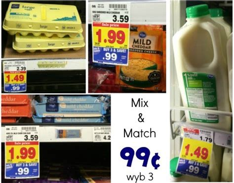 free milk at kroger coupon matchup mylitter one deal kroger essentials mix match buy three for 99 162 each