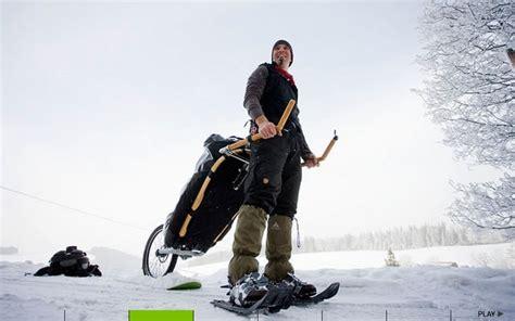 wandlen flach monowalker hiking trailer