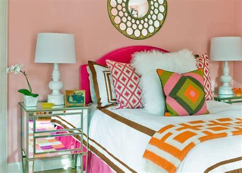 orange and green bedroom 7 beautiful bedroom makeovers by designer katie rosenfeld