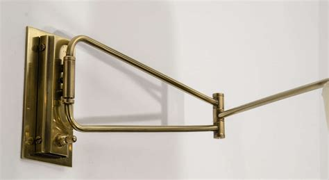 swing arm l lune l swing arm sconces for sale at 1stdibs