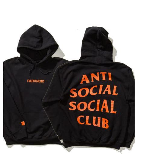 Hoodie Assc 8 anti social social club hoodie mind new soldout