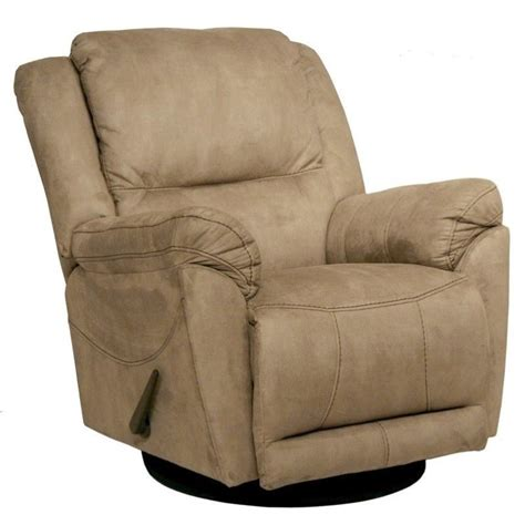 microfiber glider recliner catnapper maverick chaise swivel glider recliner chair in