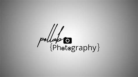 Photoshop Tutorial Watermark Logo | how to create watermark photography logo use adobe