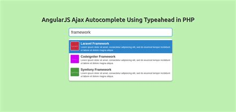 tutorial jquery php autocomplete angularjs ajax autocomplete using typeahead in php exle