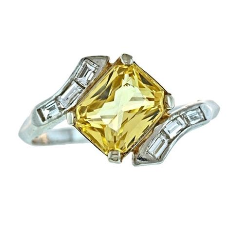 17 61 Karat Yellow Saphire 14 best yellow engagement rings images on