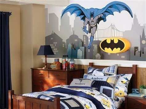 ideas for boys bedroom decorations super hero theme for boy room decorating