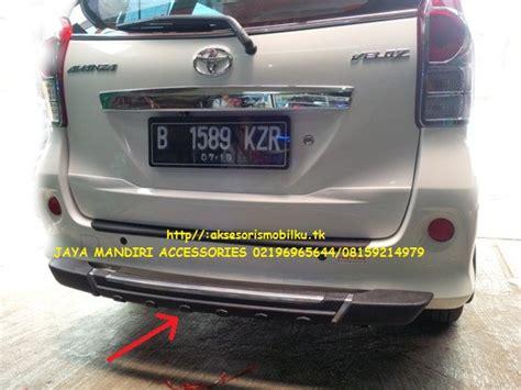 Pelindung Bemper Belakang Avanza Veloz All New Xenia Avanza Jaya Mandiri Aksesoris