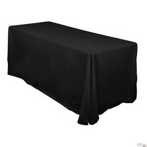 Floor Length Table Linens - canberra spits amp party hire 6ft fitted tablecloth hire floor length black or white