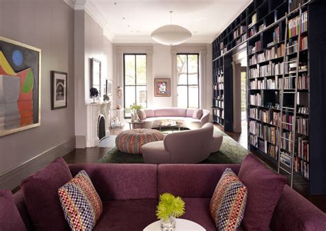 townhouse room heights townhouse contemporary living room new york by spg architects