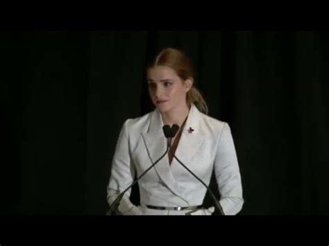 emma watson un speech transcript 2016 emma watson s un speech youtube