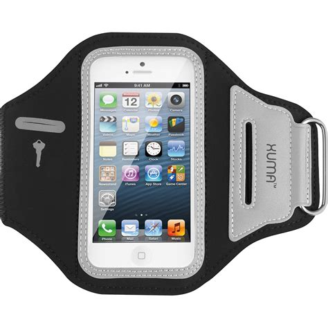 xuma armband for iphone 4 4s 5 5s ip ab101 b h photo