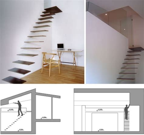 Hanging Stairs Design Creative Hanging Floating Suspended Staircases