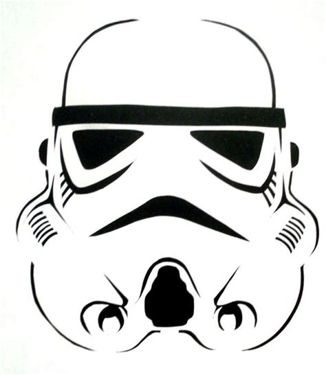 stormtrooper template trooper stencil for airbrush craft ebay