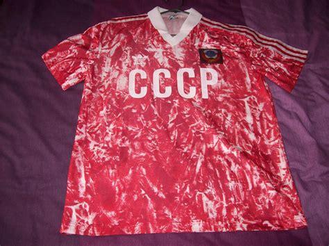 cccp testi cccp ussr home maglia di calcio 1989 1991
