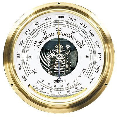 are the twittering classes an accurate barometer during this pre oakton aneroid barometer at laco