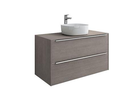 mueble para lavabo sobre encimera mueble base roca inspira para lavabo sobre encimera 1000 mm