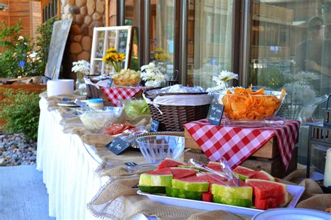 Backyard Rehearsal Dinner Ideas Backyard Bbq Rehearsal Dinner Modern Day Homemaker