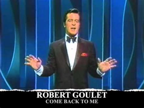 when is bob beckle coming back to the 5 of fox robert goulet come back to me k pop lyrics song