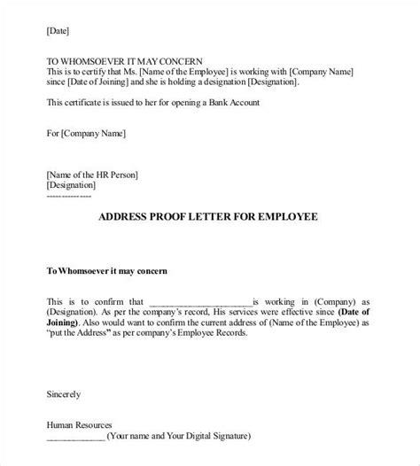 Address Proof Declaration Letter Format notarized letter templates 27 free sle exle format for self declaration letter for