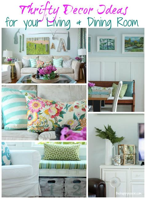diy for less thrifty decor ideas from the happy housie
