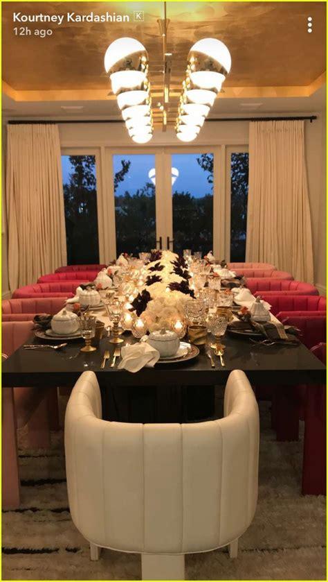 kylie jenner hosted  family  thanksgiving dinner
