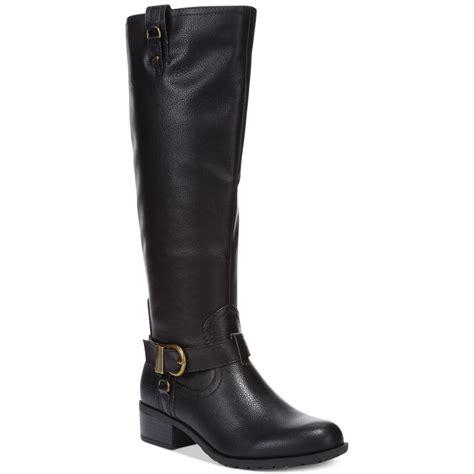 black riding rage intense riding boots in black lyst