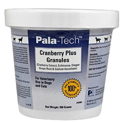 cranberry supplements for dogs pala tech cranberry plus granules for pets 300 gm