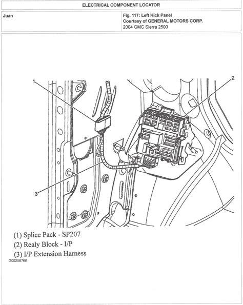 Dtc b0540 2004 gmc 2500hd 8.1l no speed input for speedometer