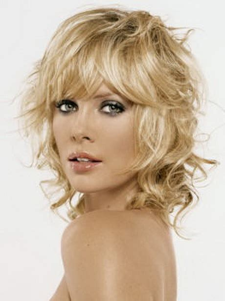 images choppy shag hairstyle medium choppy hairstyles with bangs