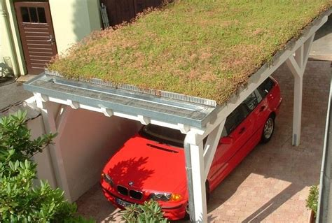 Roof For Carport by Grass Roof On A Carport Reclaimed In 2019 Garage Roof