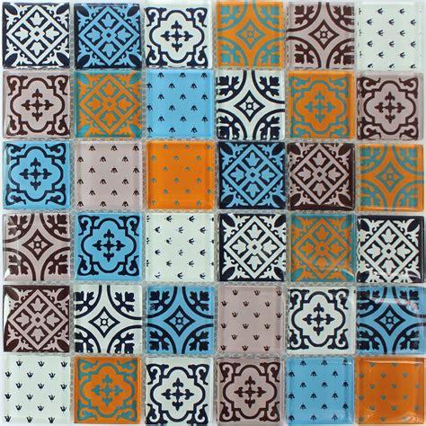 Mosaik Fliesen Muster by Muster Glas Mosaik Fliesen Zementoptik Bunt Mix Eur 1 90