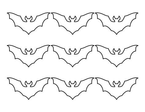 free bat template printable small bat pattern use the pattern for crafts