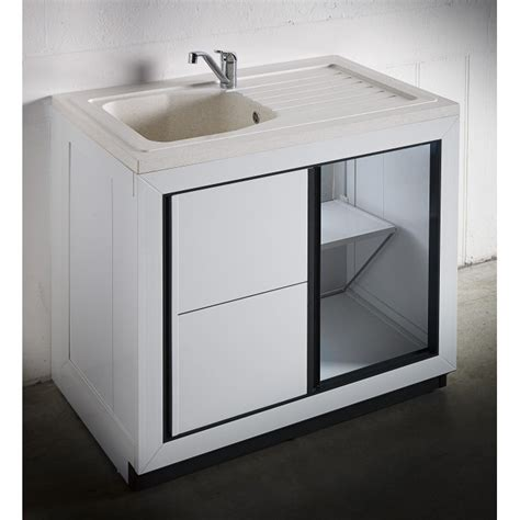 Meuble Sous Evier 90x60 by Composite Vendee 900 X 600 Mm Boutique Pro Carea Sanitaire