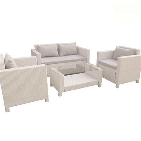 poltrone e sofa cuscini set sofa tahiti 4 pz divano poltrone tavolo cuscini in