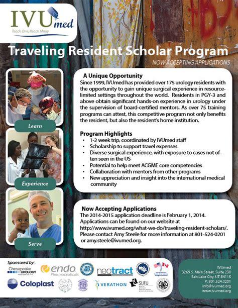 aua western section ivu med traveling resident scholar program feb 1