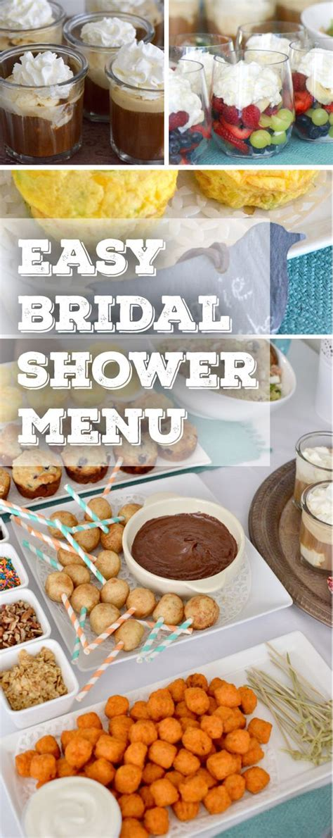 bridal shower food ideas budget everything you need to plan the bridal shower on a budget pinteres