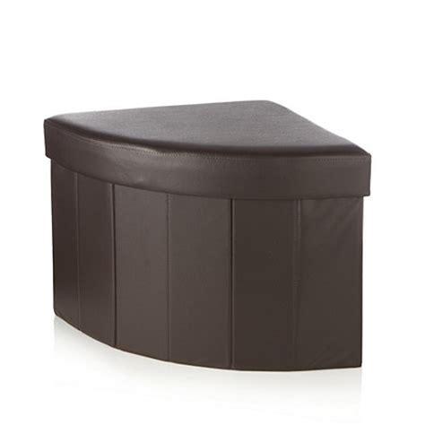 corner ottoman corner folding storage ottoman 803538 qvcuk com