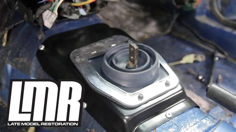 89 Mustang Auto Transmission by Mustang Manual Transmission Tunnel Hump Installation 5